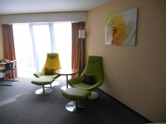 Hotel Alpha-Palmiers: petit coin détente