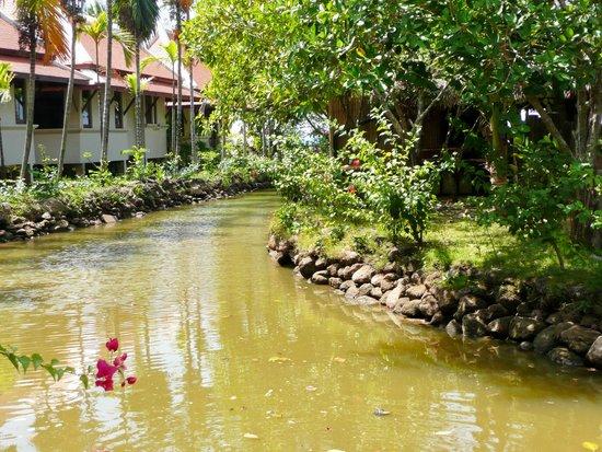 Khuk Khak, Thailand: ..ein kleiner Teil der sehr gepflegten Anlage...