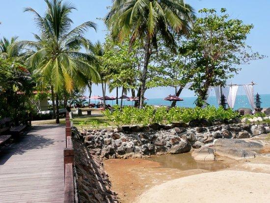 Khuk Khak, Thailand: Weg zum wunderbaren Strand