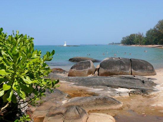 Khuk Khak, Tajlandia: .....am Strand.....