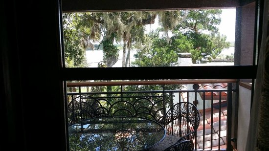 Black Dolphin Inn: Balcony View