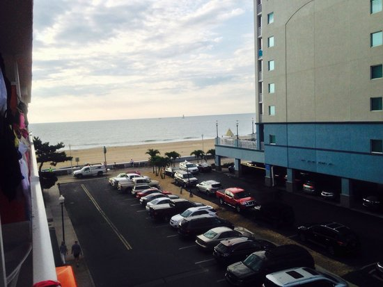 The Spinnaker: View from our balcony.