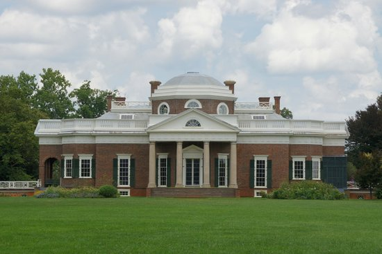 Back of the Monticello