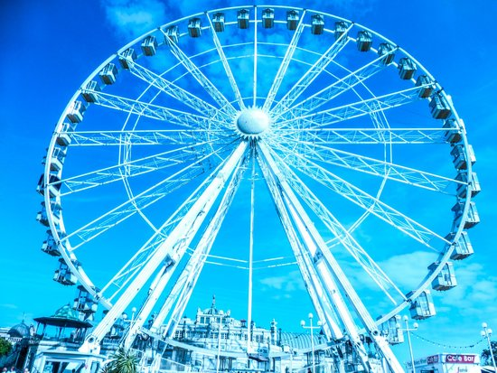 English Riviera Wheel: The wheel