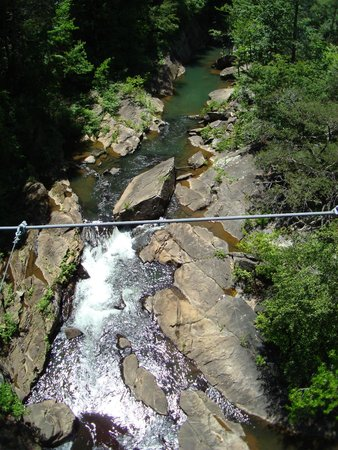 Tallulah Gorge State Park: from the bridge