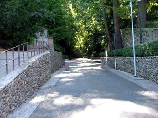 The Alhambra: Garden Entrance Cuesta Gomerez