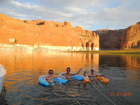 Lake Powell: Relax total!