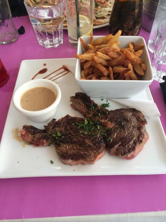 The Central Pub : Entrecôte frites