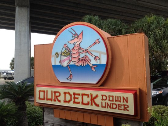 Our Deck Down Under: Yummy Deck Dining