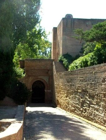 The Alhambra: Puerto Justicia from inside