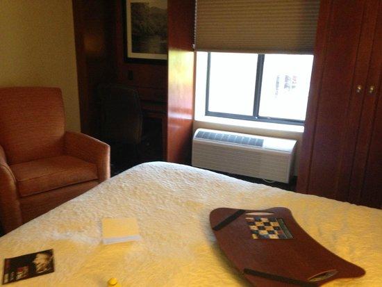 Hampton Inn & Suites Binghamton / Vestal : Nice modern furnishings