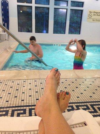 Hampton Inn & Suites Binghamton / Vestal : nice indoor pool