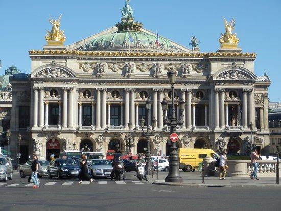 Opéra Garnier : una de las fachadas