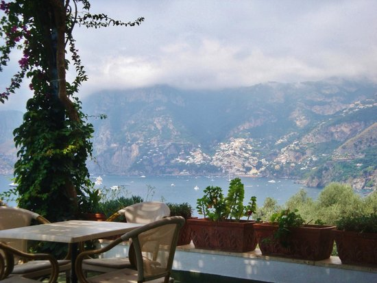 Hotel Le Sirene: view from the bar terazza
