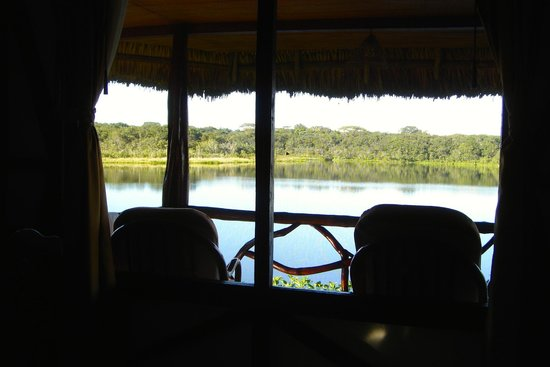Napo Wildlife Center Ecolodge: Gorgeous view from our cabin