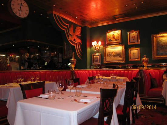 The Russian Tea Room: View from our table