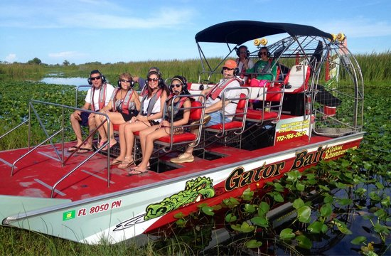 Gator Bait Airboat Adventures: Ready to roll