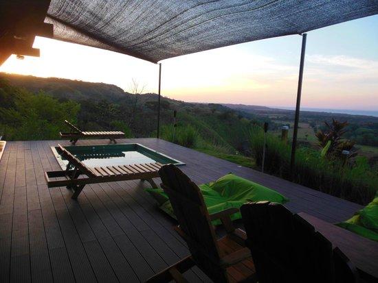 Playa Hermosa Lodge: vue 1
