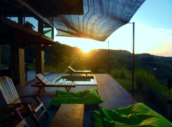 Playa Hermosa Lodge: vue 2