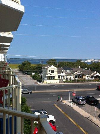 Bonita Beach Hotel: Bay view from balcony (premium view room)