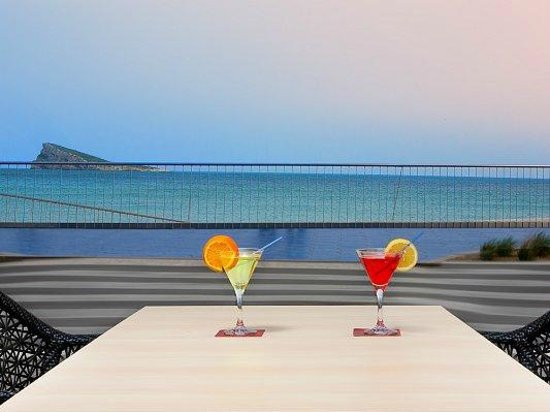 Villa Del Mar Hotel: Terraza Chill Out