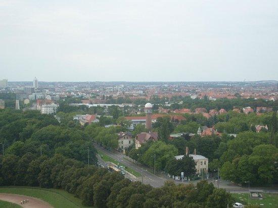 Völkerschlachtdenkmal: View