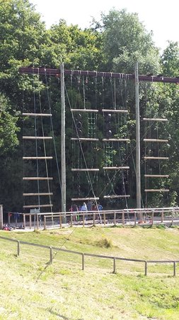 PGL Barton Hall: Jacobs ladder and vertical challenge