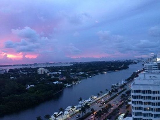 Fontainebleau Miami Beach : view