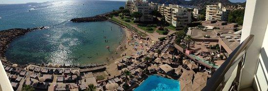 Pullman Cannes Mandelieu Royal Casino : vue de la chambre