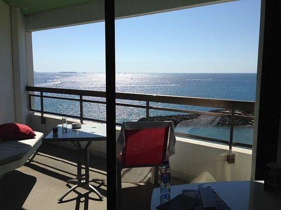 Pullman Cannes Mandelieu Royal Casino : balcon