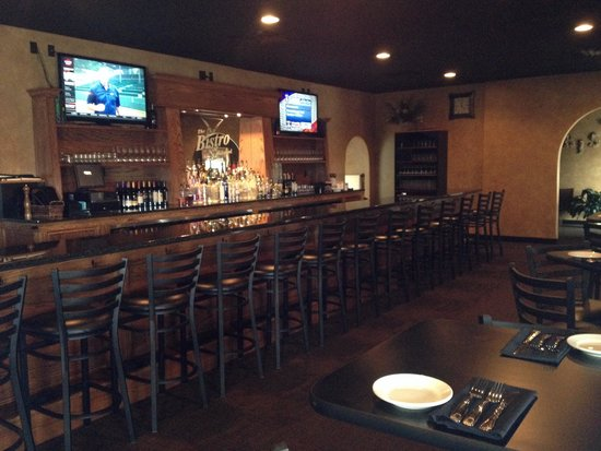 The Bistro of Green : Newest Bistro!!! Bistro of Oakwood in Canton. Amazing lounge/bar area!