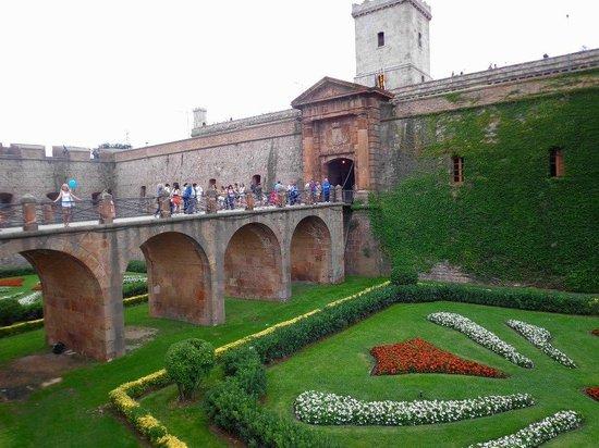 Montjuic Castle: o castelo