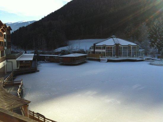 Falkensteiner Family Hotel Lido Ehrenburgerhof: vista lago