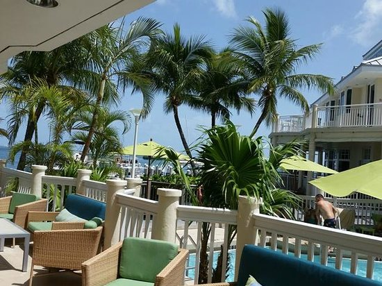 Hyatt Centric Key West Resort and Spa : View from pool area