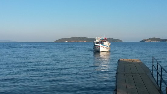 Villa Apollon Skiathos: boat taxi