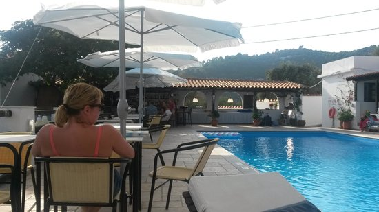 Villa Apollon Skiathos: chilling