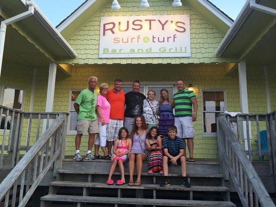 Rusty's Surf & Turf : Rusty's