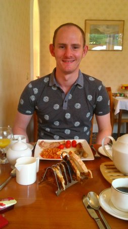 Moray Park Guest House : yumchy breakfast