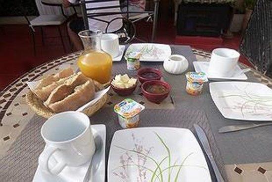 Riad Dar Ftouma : Petit dejeuner