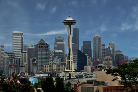 Kerry Park: Space Needle and Seattle Skyline