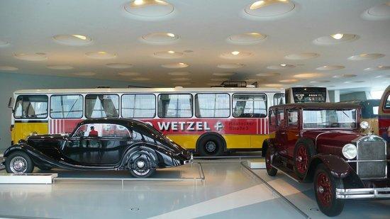 Mercedes-Benz Museum: Service Vehicles