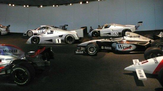 Mercedes-Benz Museum: Racing Cars