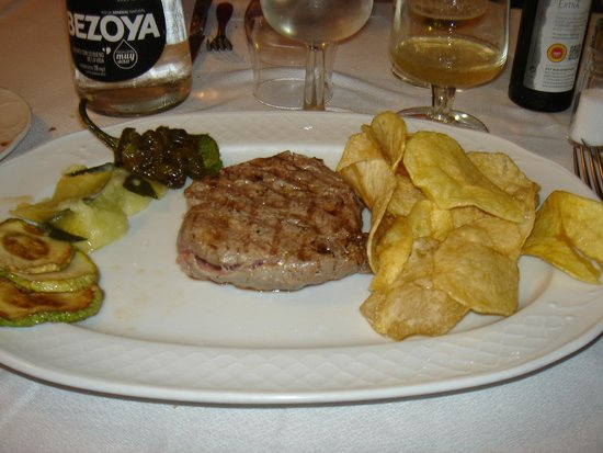 Restaurante La Parrilla : Solomillo