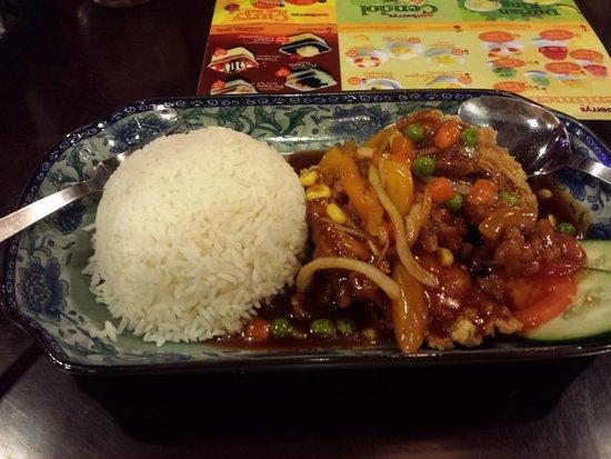 Badi'ah Hotel: mytown restaurant - hainasese Chicken rice