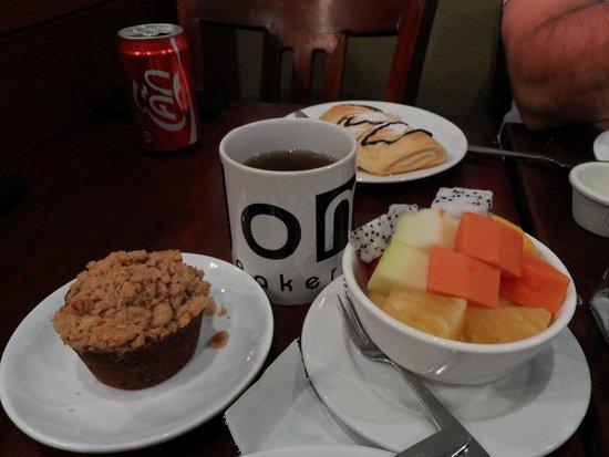 Joma Bakery Cafe: Desayuno