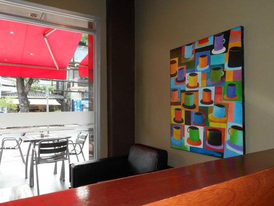 Joma Bakery Cafe: Decoración del local