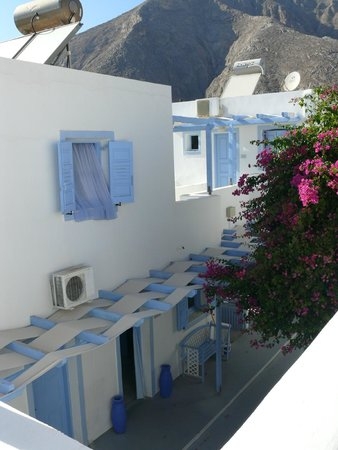 Amelie Hotel: View from room
