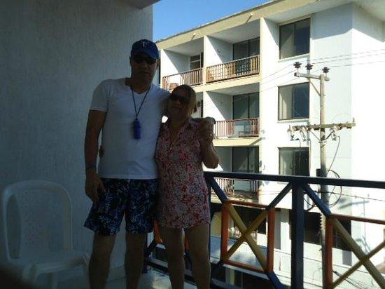 Hotel Portofino: balcon de habitacion