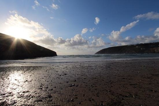 Off The Beach Cafe, Bar & Bistro: Mawgan Porth beach