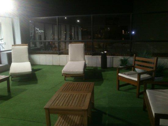 Pocitos Plaza Hotel: SOLARIUM DE LA TERRAZA